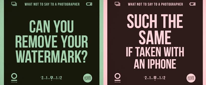 O que não dizer a um fotógrafo capa