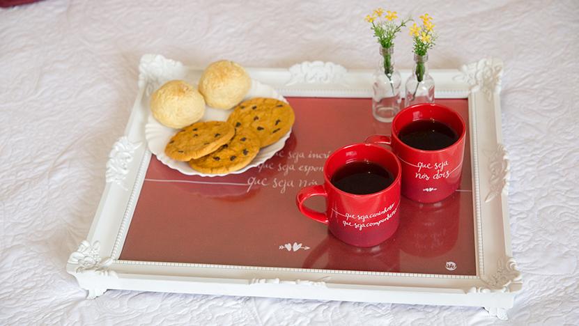 cesta de café româtico