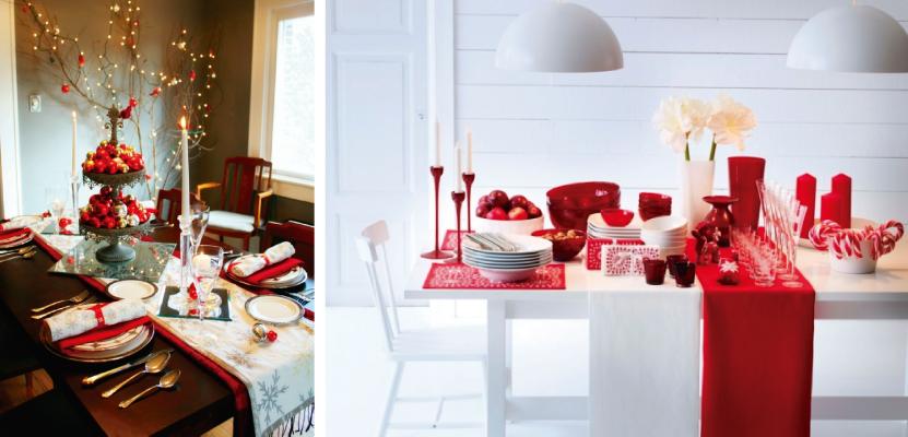 decoração-de-mesa-de-natal-vermelha