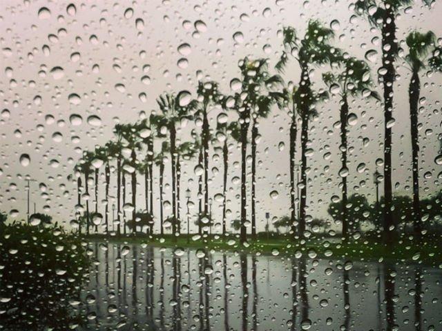 chuva nas férias