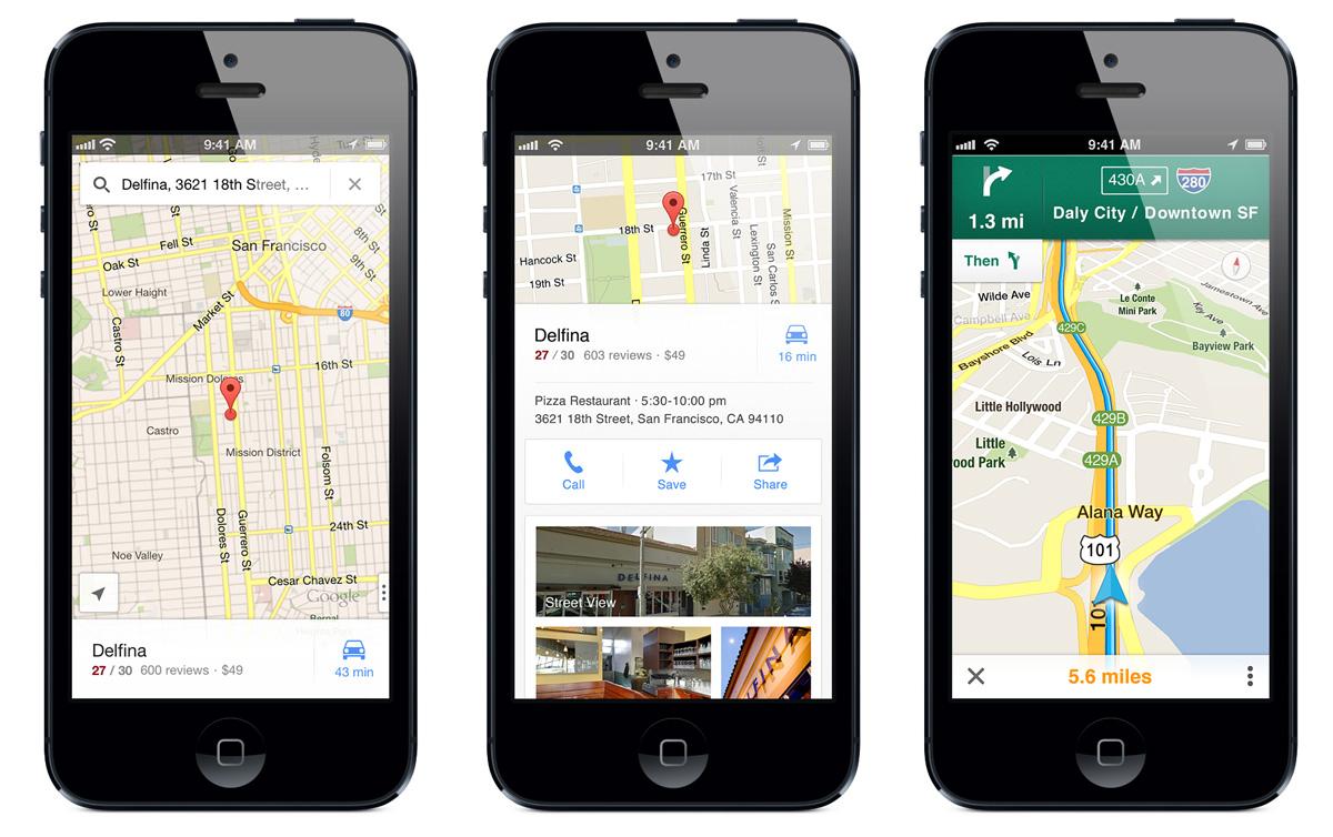 googlemaps app