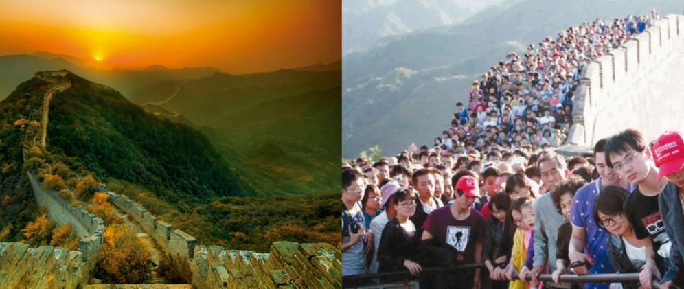 expectativa versus realidade viagem