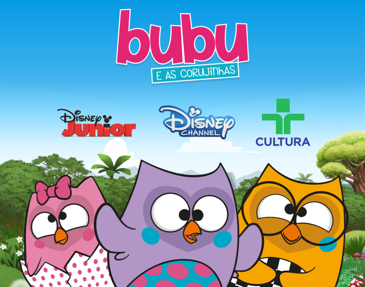 Disney + Uatt? = Bubu e as Corujinhas na TV!