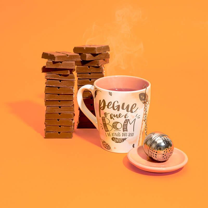 Chocolate e caneca